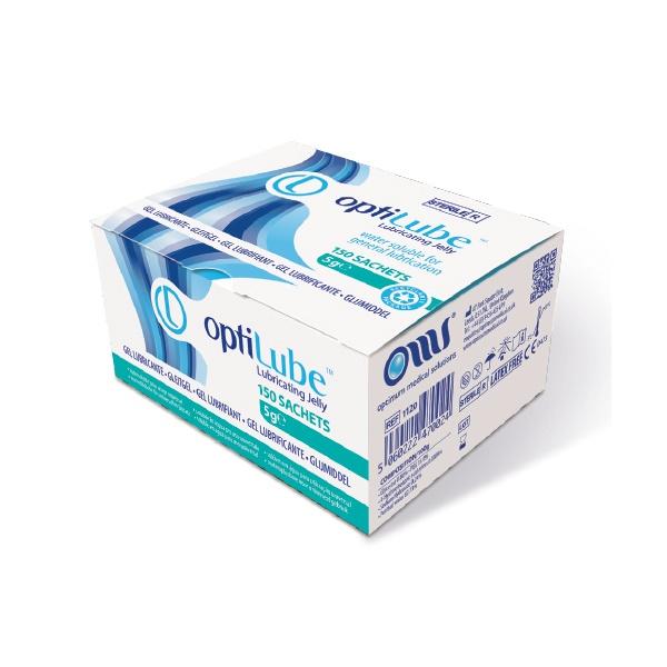 OptiLube glijmiddel op waterbasis, sachet 5 gram