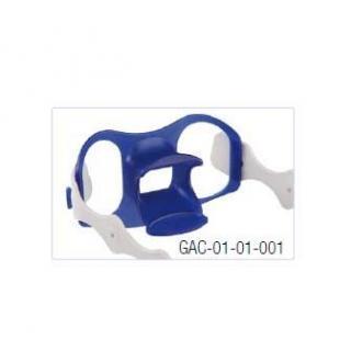 Bijtblok, met latexvrije hoofdband en tongdepressor