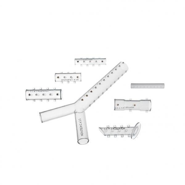 Novatech Bronchial GSS stent, straight 10mm, 30mm
